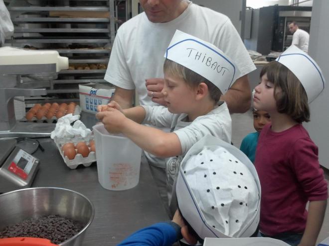 les enfants en pleine préparation