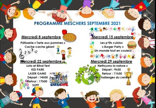 Programme septembre acm merschers