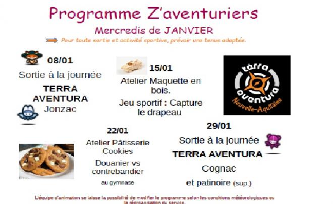 Programme zav janvier 2020